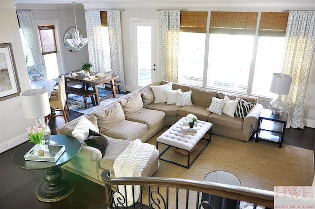 Neutral living room | Honey We're Home