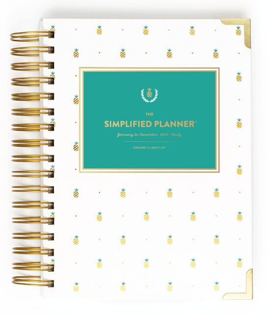 Emily Ley Simplified Planner - The Happiness Planner - Prettiest Planners 2016 | #getorganized #schedule #planner #organizer