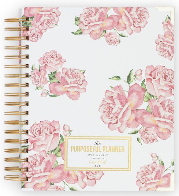 The Purposeful Planner - The Happiness Planner - Prettiest Planners 2016   #getorganized #schedule #planner #organizer