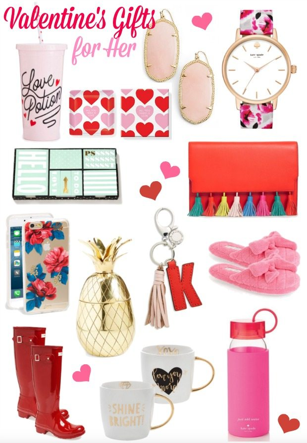 Girlie Valentine's Day Gifts for Her - I'll take one of each please!