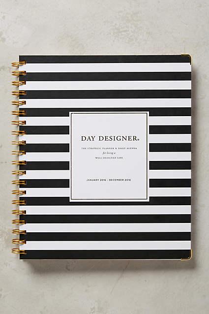 Whitney English Day Designer - The Happiness Planner - Prettiest Planners 2016   #getorganized #schedule #planner #organizer