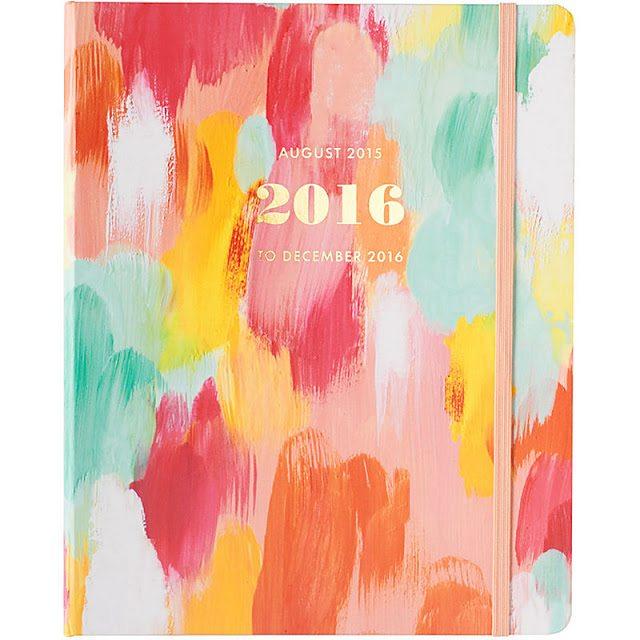 Brushstroke Planner - The Happiness Planner - Prettiest Planners 2016   #getorganized #schedule #planner #organizer