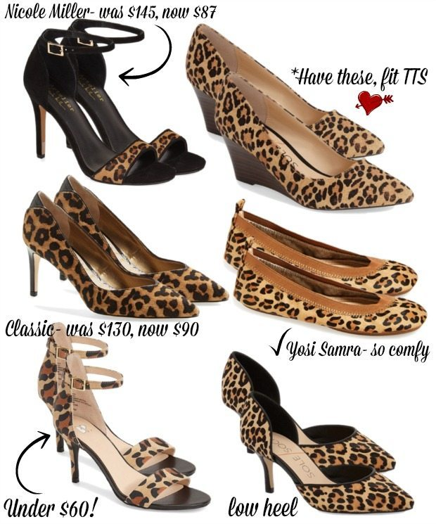 Leopard shoes - a little leopard goes a long way!