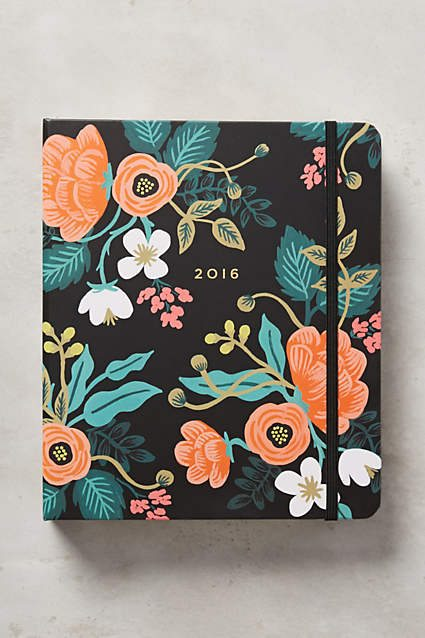Rifle Paper Wee Hours Planner - The Happiness Planner - Prettiest Planners 2016 | #getorganized #schedule #planner #organizer