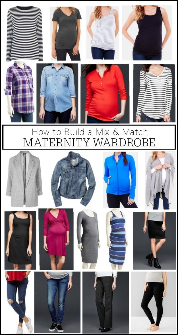 How to Build a Mix & Match Maternity Wardrobe that doesn't break the bank #dressingthebump #bumpstyle #maternityfashion