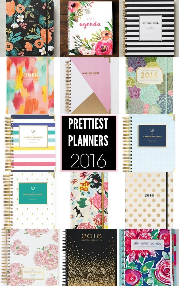 The Prettiest Planners of 2016 - I'm ready to get organized!