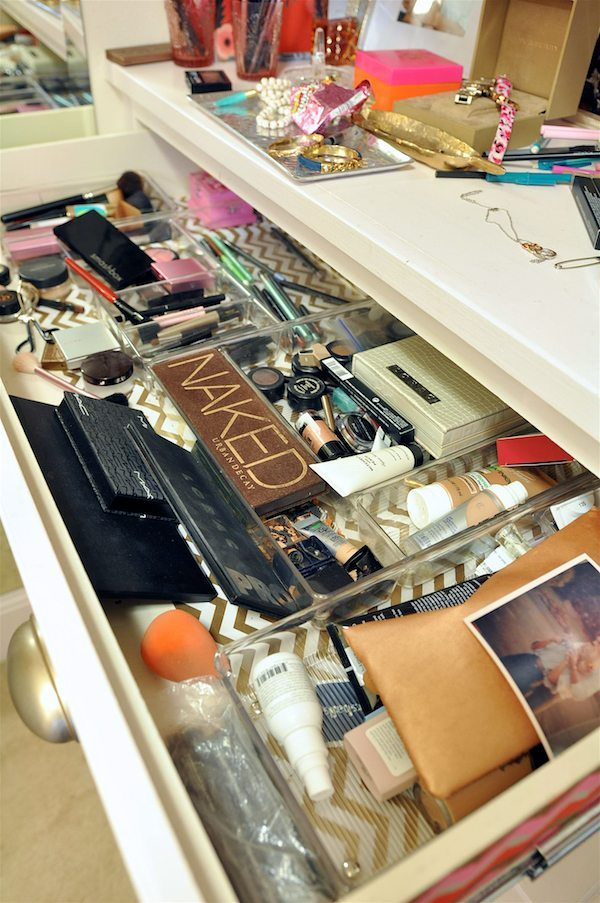 I Must Say, Even Though The Makeup Drawer Was A Disaster, I Love Having A  Built In Dresser In My Closet And Room To Get Ready In There.