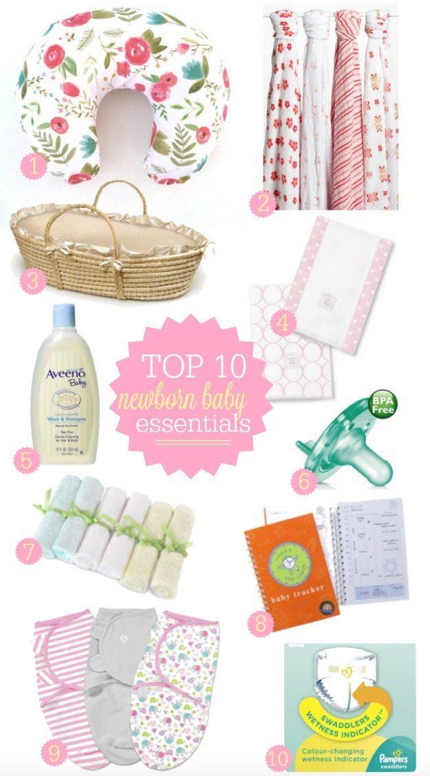 Top 10 Newborn Baby Essentials