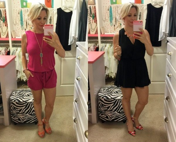 Spring fashion - two cute rompers!