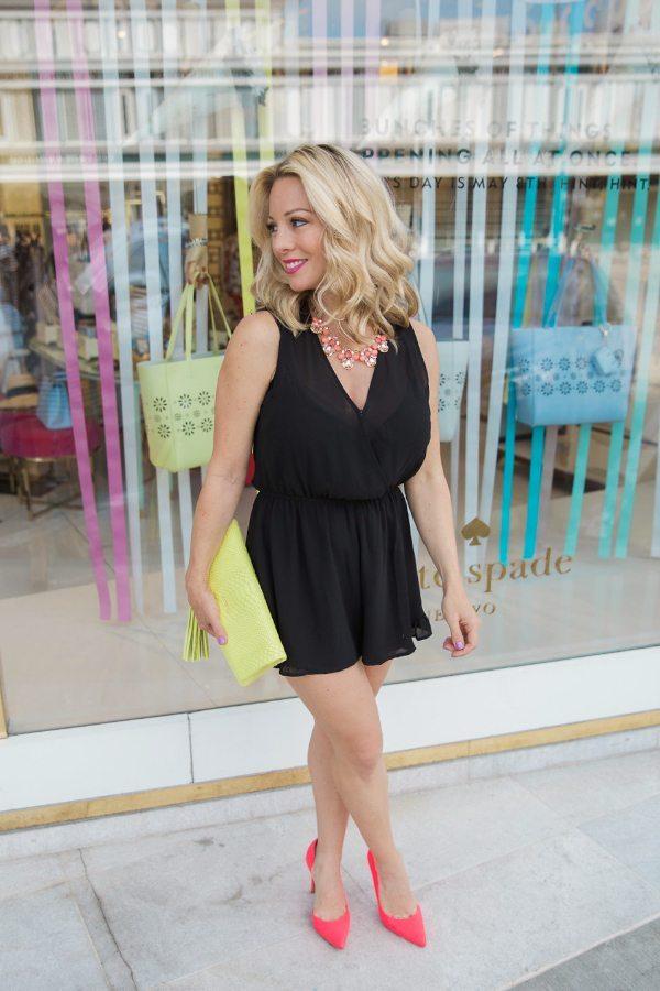 1a55e865c25a Black Dress And Pink Heels - Heels Zone