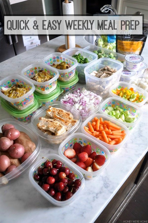 Healthy Weekly Meal Prep