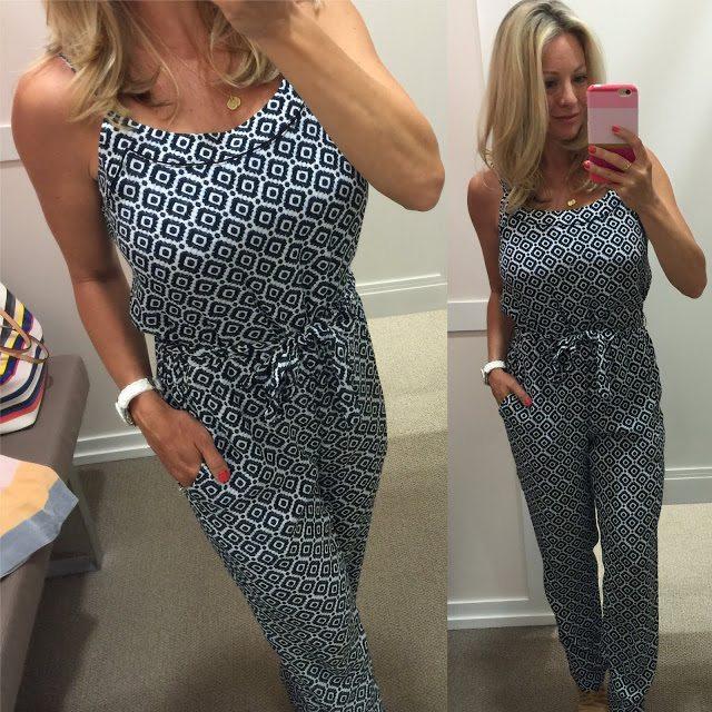 Summer fashion - pantsuit