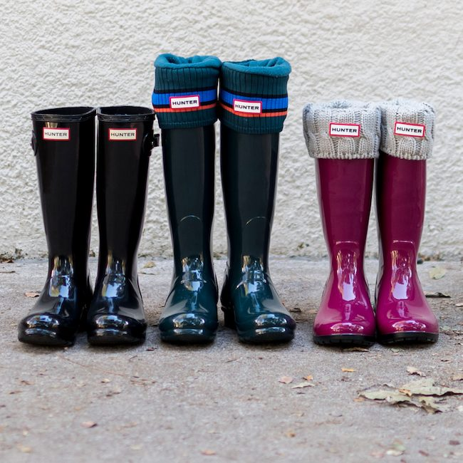fe9384eb0be Hunter & Ugg Rain Boot Review | Honey We're Home