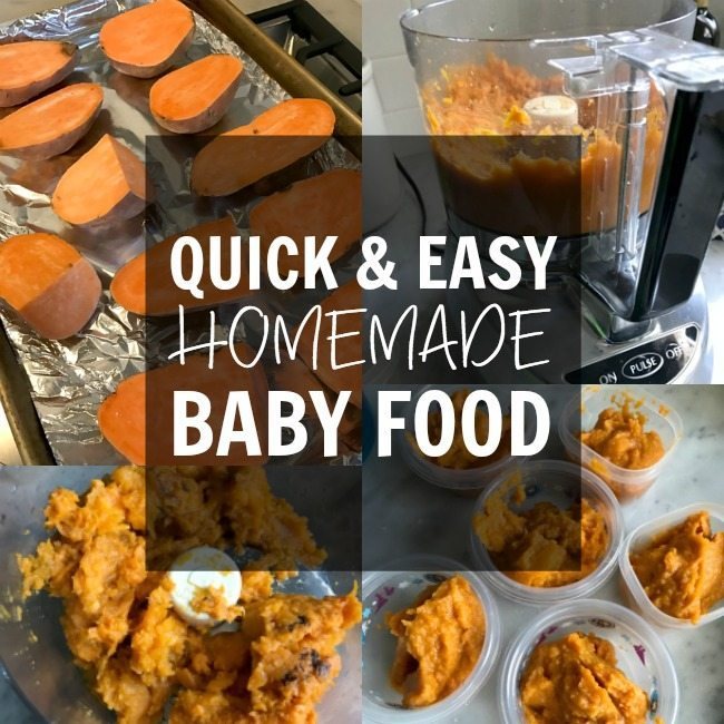 Starting Solids (Quick & Easy Homemade Baby Food Recipes ...