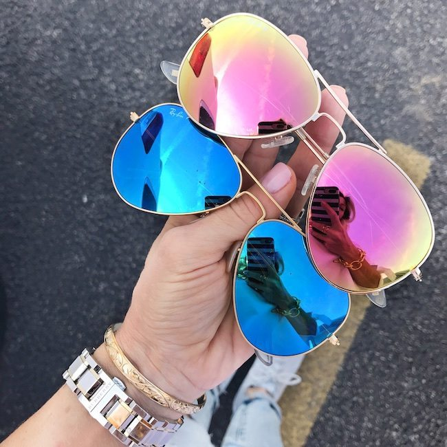 June monthly favorites ray-ban sunglasses
