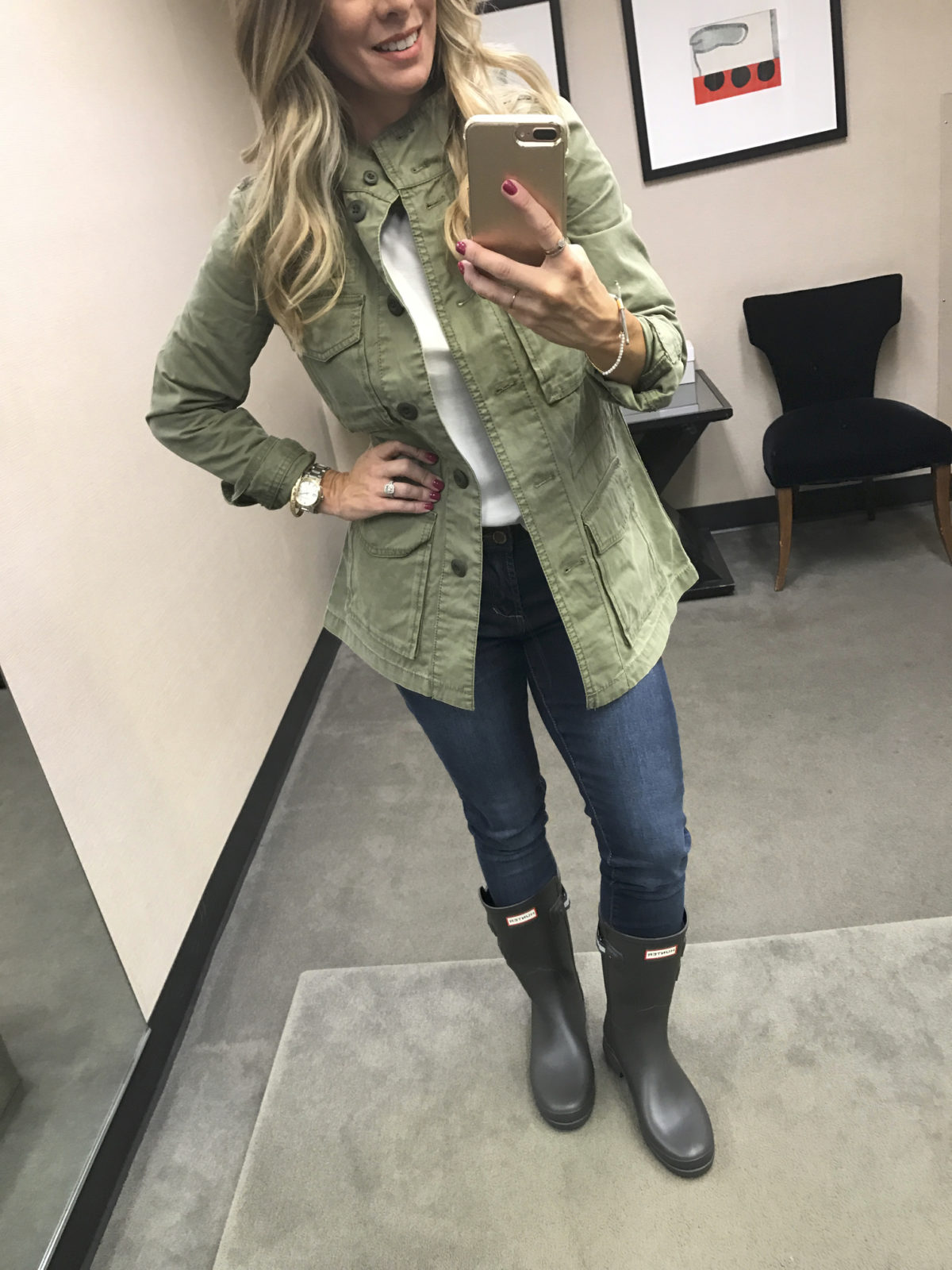 Nordstrom Anniversary Sale 2017 military jacket