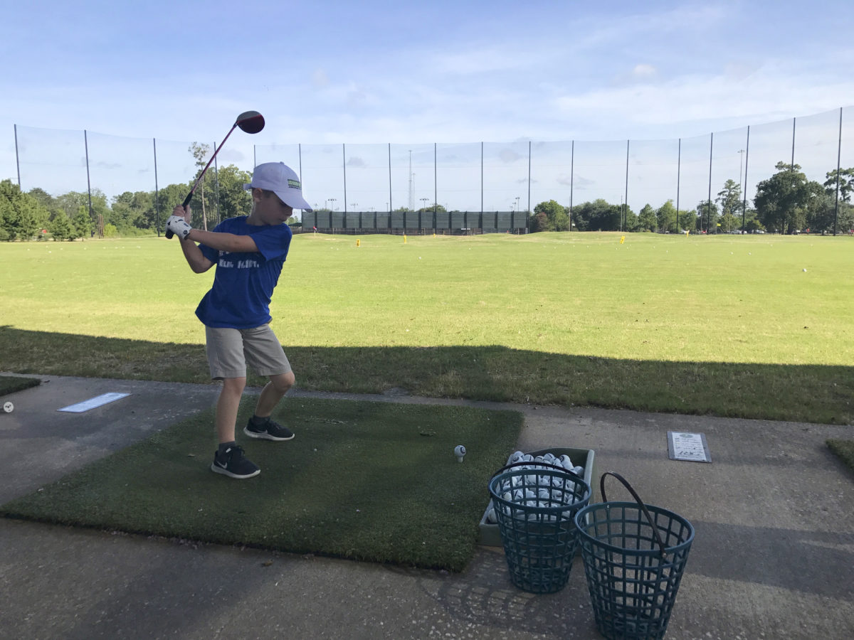 kid golf