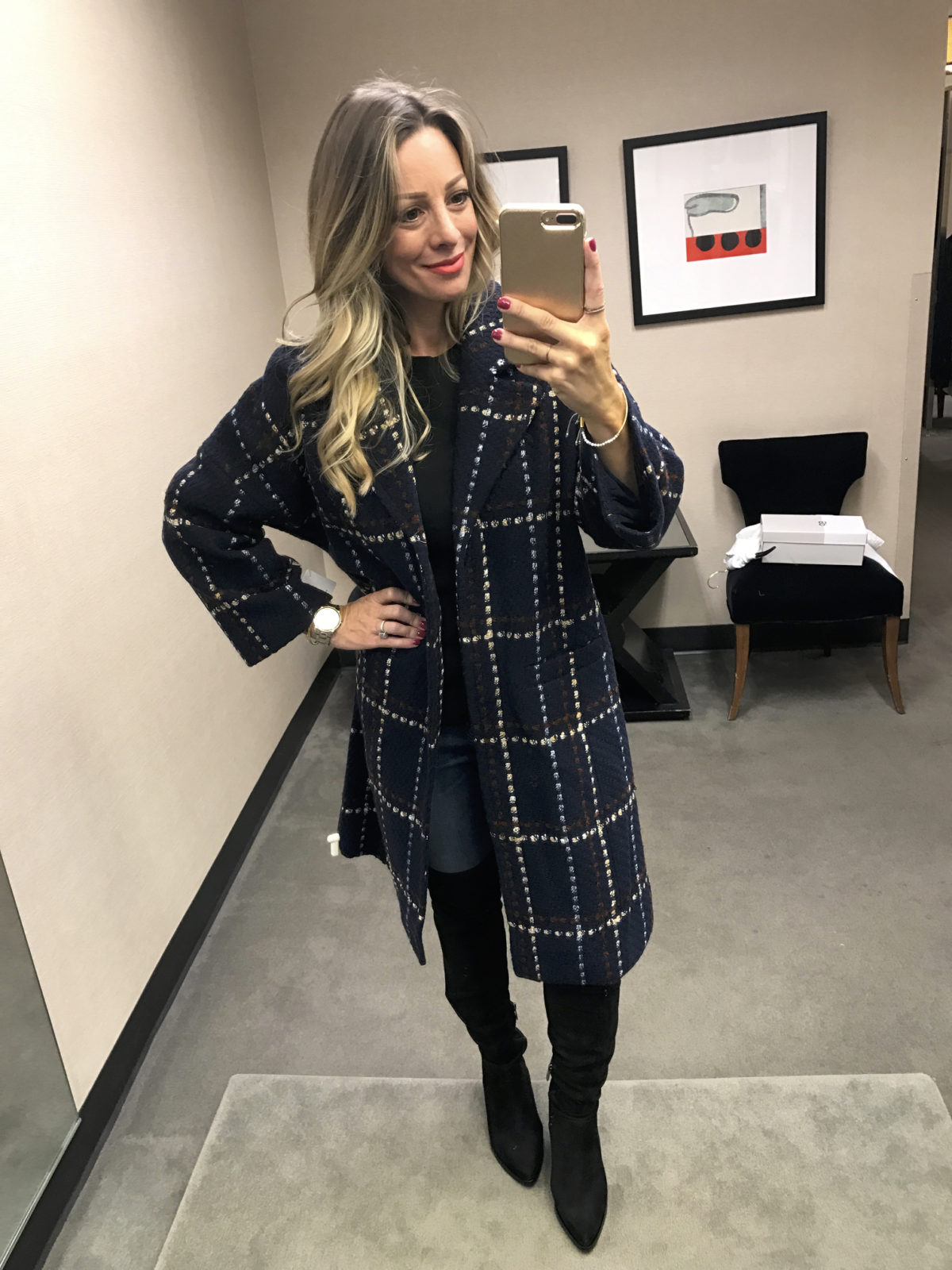 Halogen Plaid Topper Nordstrom Anniversary Sale 2017
