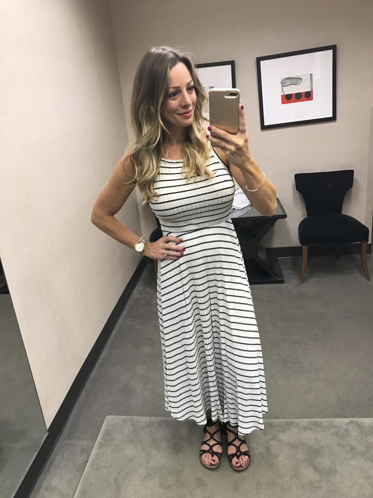 Nordstrom Anniversary Sale stripe tank dress