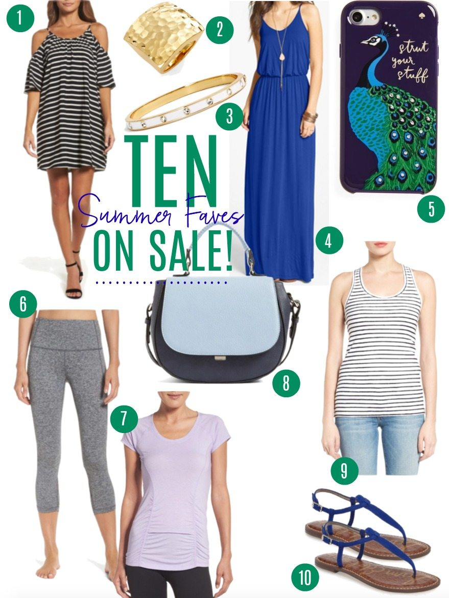 ten summer faves on sale