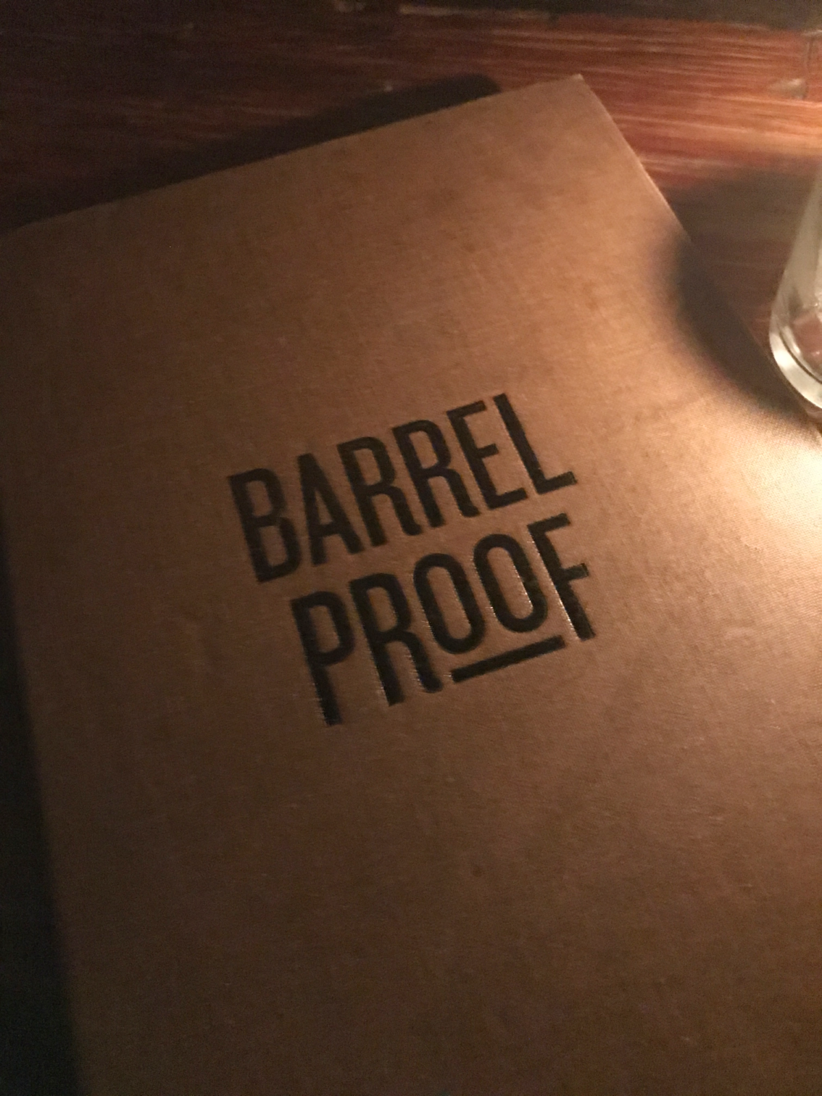 New Orleans Barrel Proof
