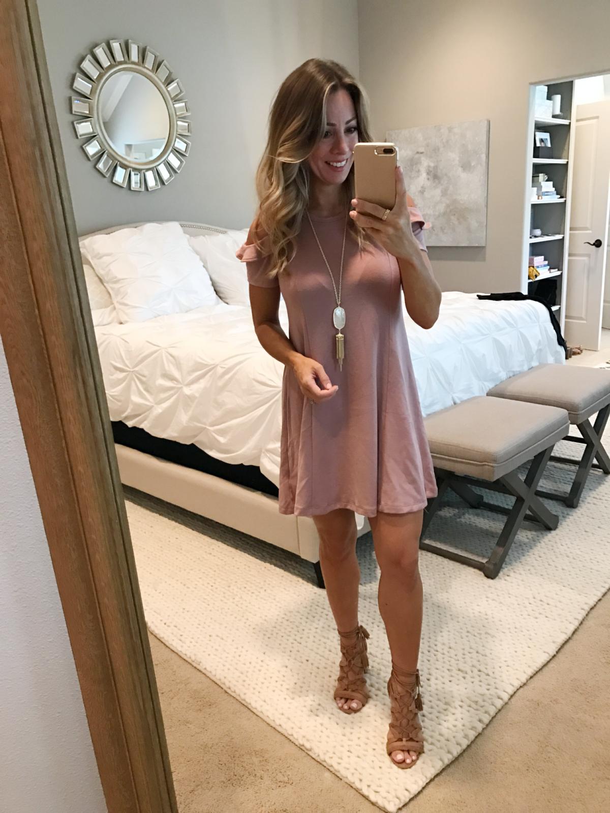 cold shoulder dress (1)