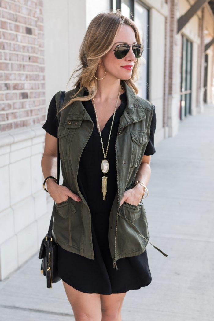 Black shirt dress under $50.10
