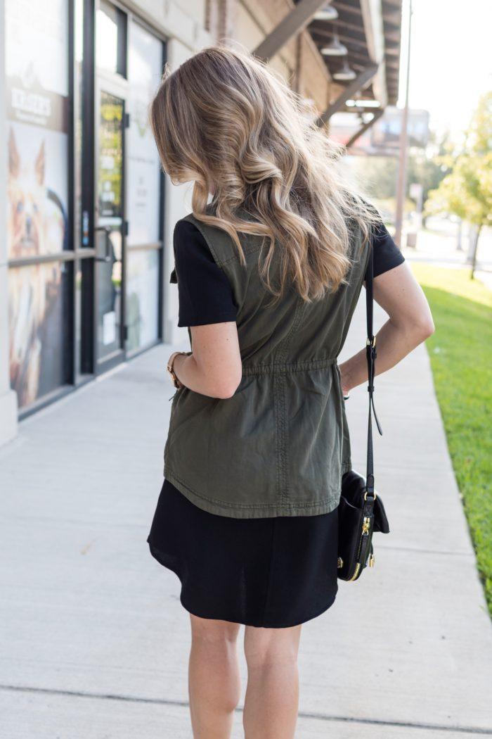 Black shirt dress under $50.11