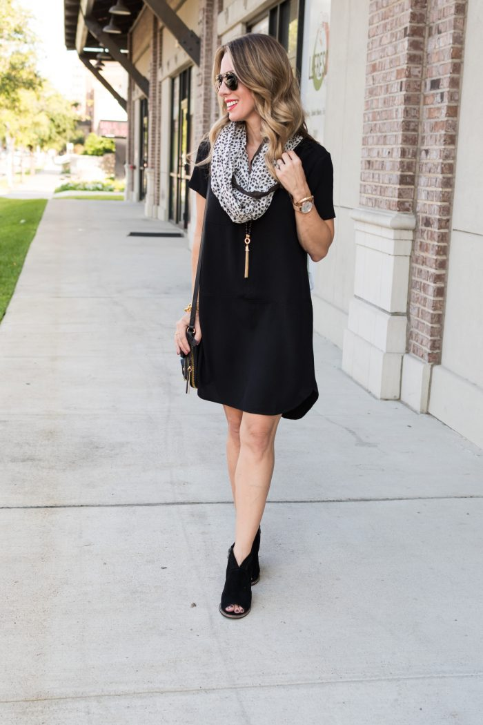 Black shirt dress under $50.5