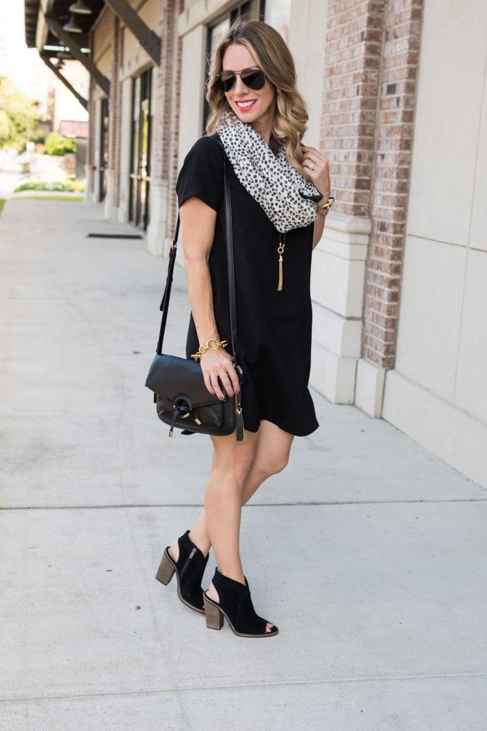 Black shirt dress under $50.6