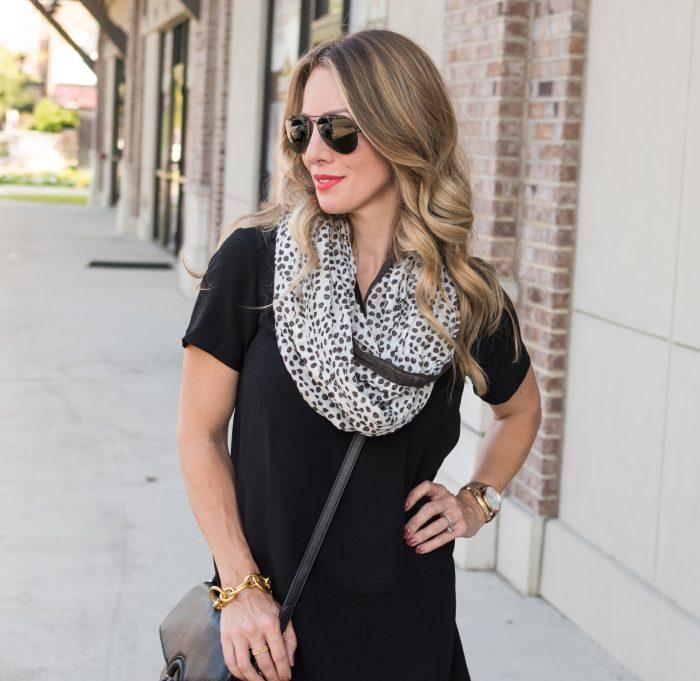 Black shirt dress under $50.7