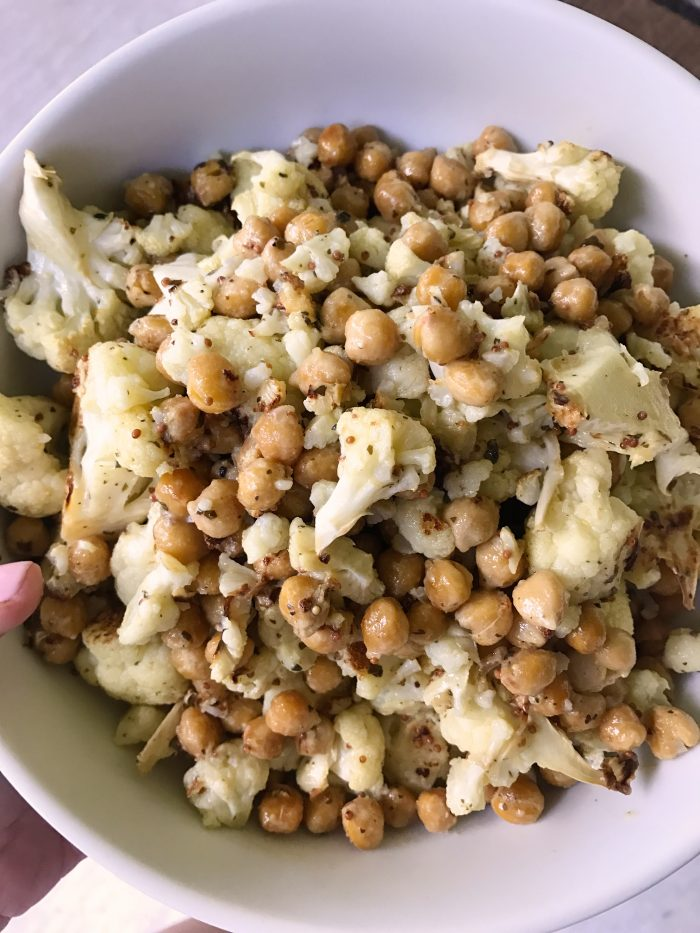 cauliflower chickpea