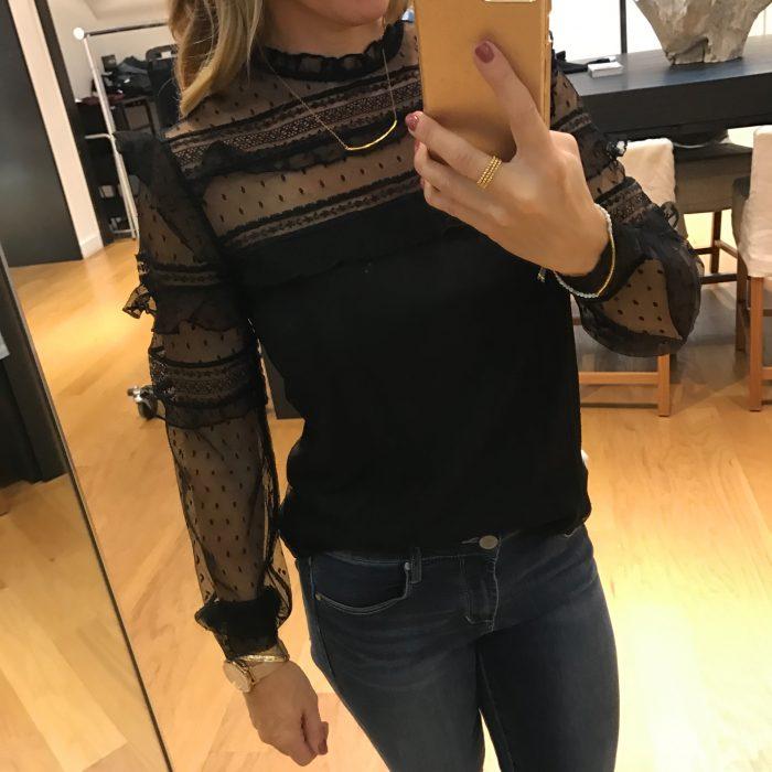 express black blouse