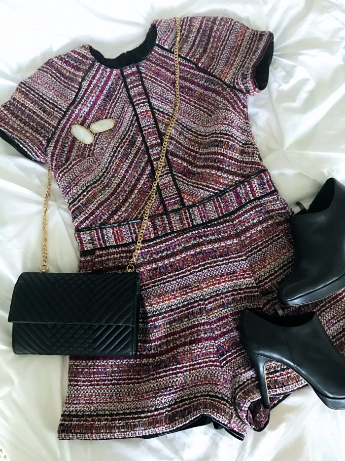 tweed shorts romper (1)