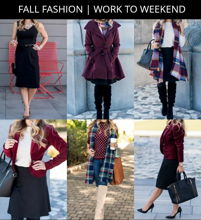 Fall Fashion - work to weekend