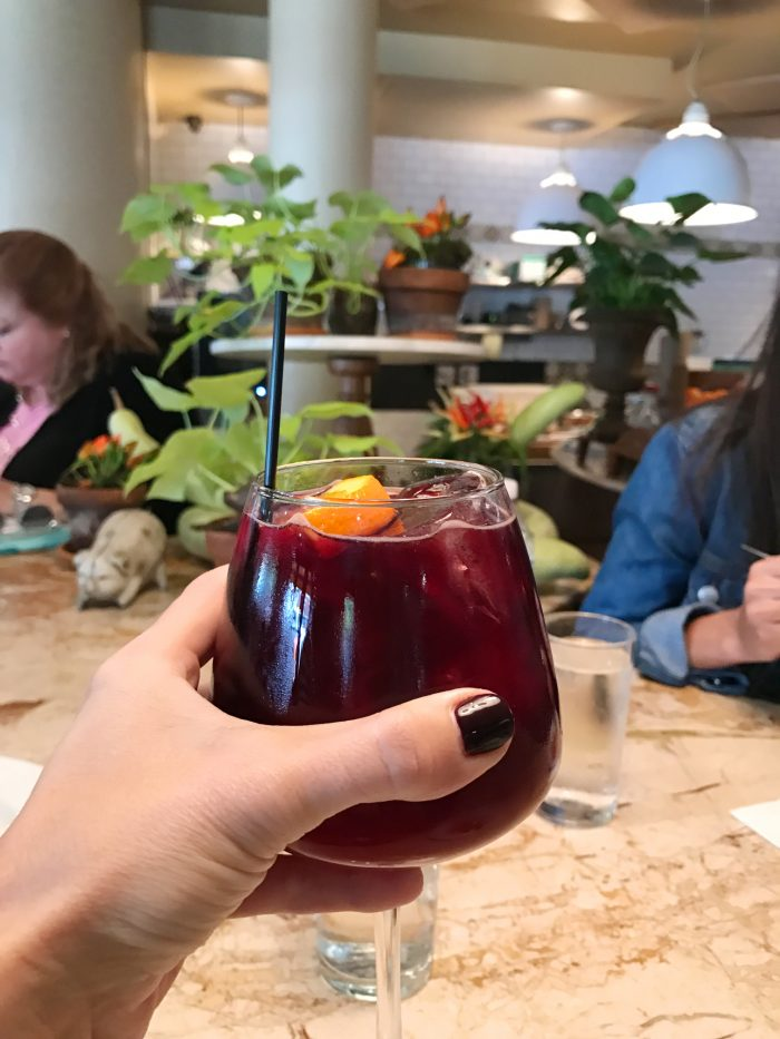 Foods of NY Tour, Brooklyn sangria