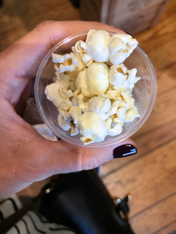 Foods of NY Tour, Brooklyn truffled popcorn