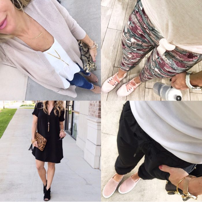 instagram round up of outfits lately