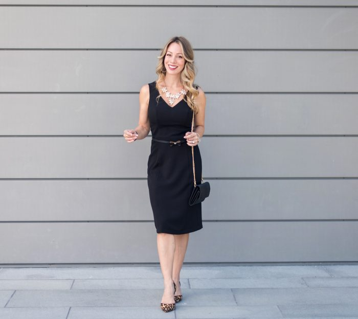 Little Black Dress work to weekend, Mod Cloth #weartowork #fallfashion