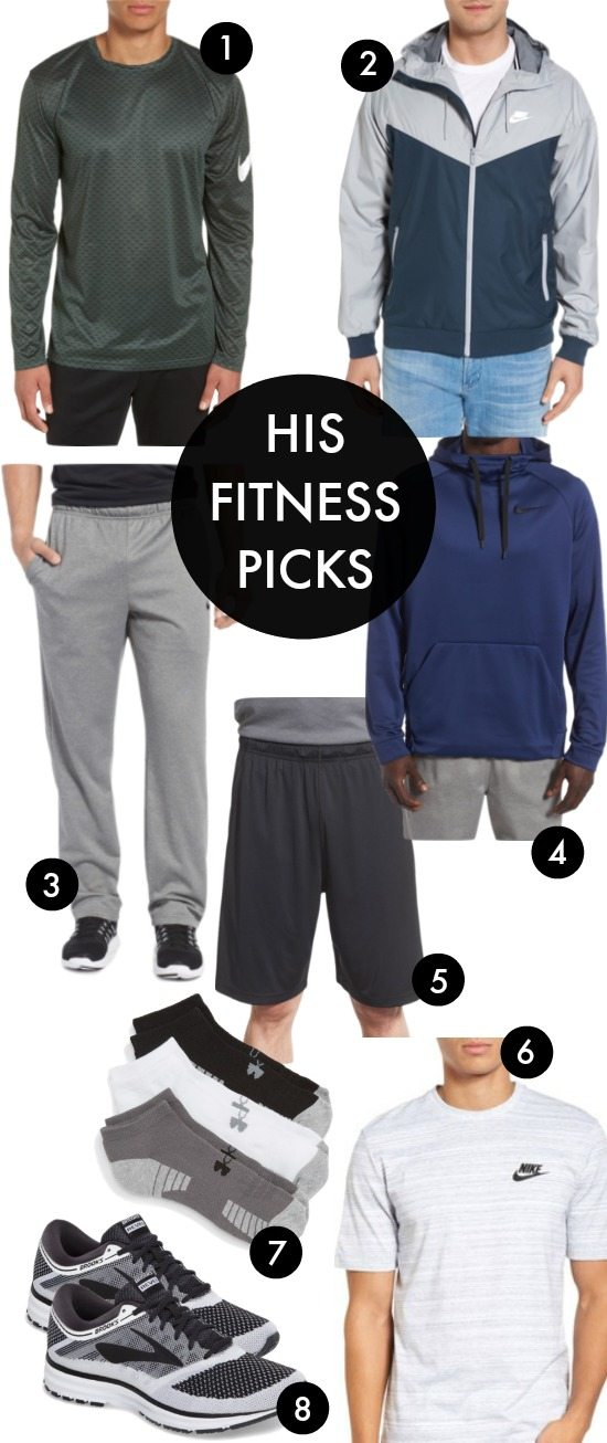HIS FITNESS PICKS - men's workout clothes