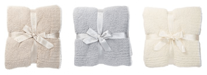 Barefoot Dreams throw blanket under $50 #giftguide