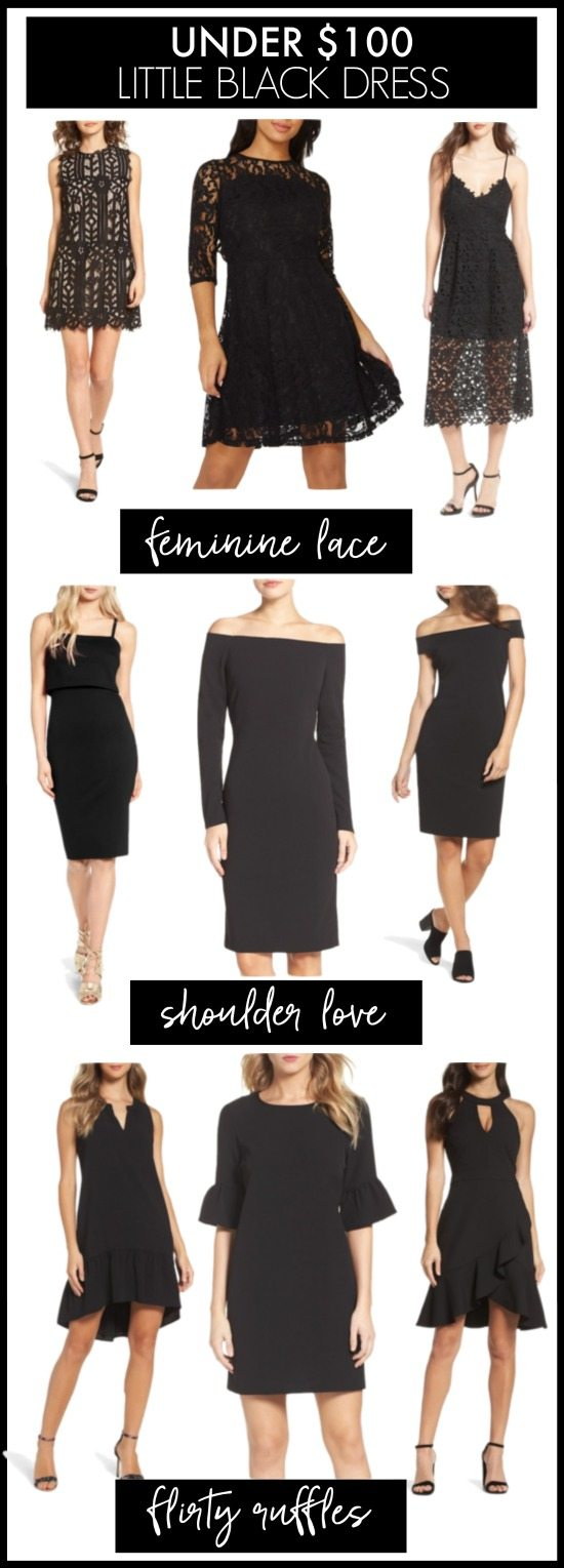 Under $100 little black dresses #partydress