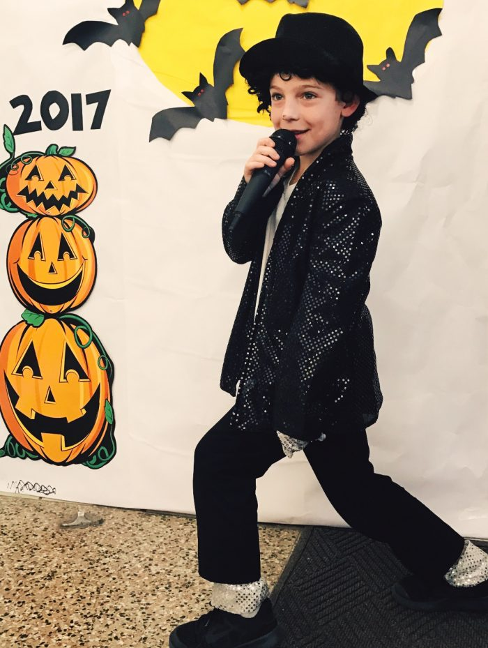 boys Michael Jackson costume