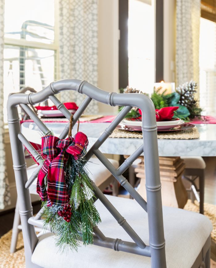 Christmas Home Tour - Breakfast Room -Honey We're Home 1