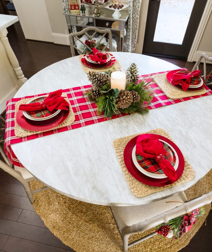 Christmas Home Tour - Breakfast Room -Honey We're Home 3