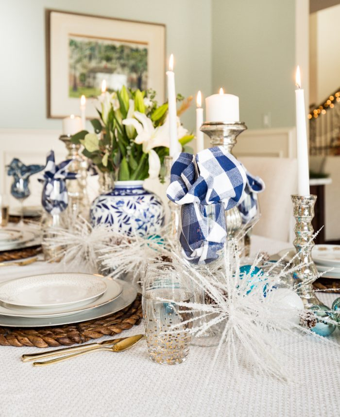 Christmas Home Tour - Dining Room -Honey We're Home 10
