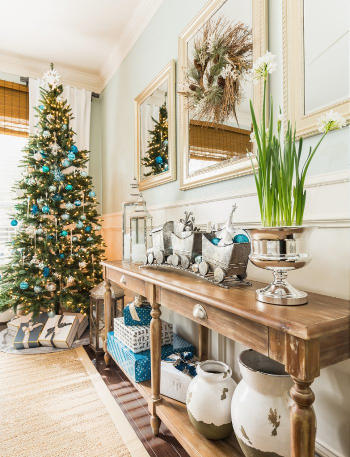 Christmas Home Tour - Dining Room -Honey We're Home 11