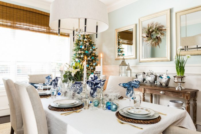 Christmas Home Tour - Dining Room -Honey We're Home 4