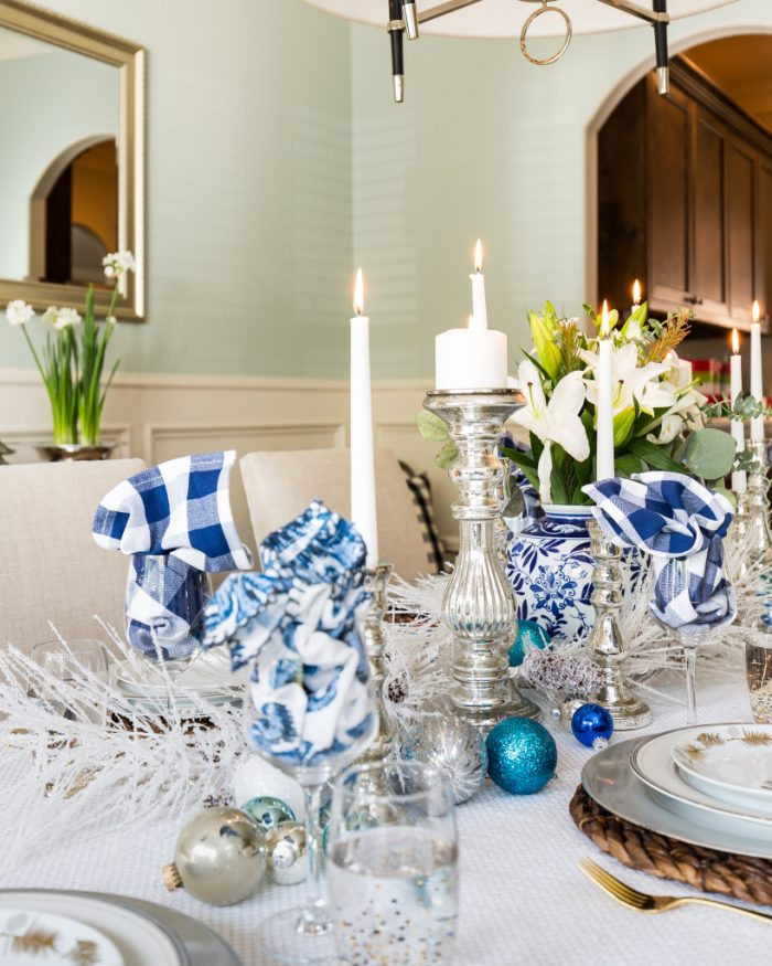 Christmas Home Tour - Dining Room -Honey We're Home 7