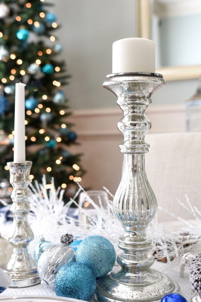 Christmas Home Tour -Dining Room Tree -Honey We're Home (2)